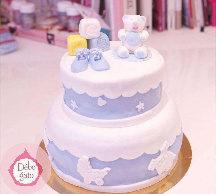 Fille bébé gâteaux de douche