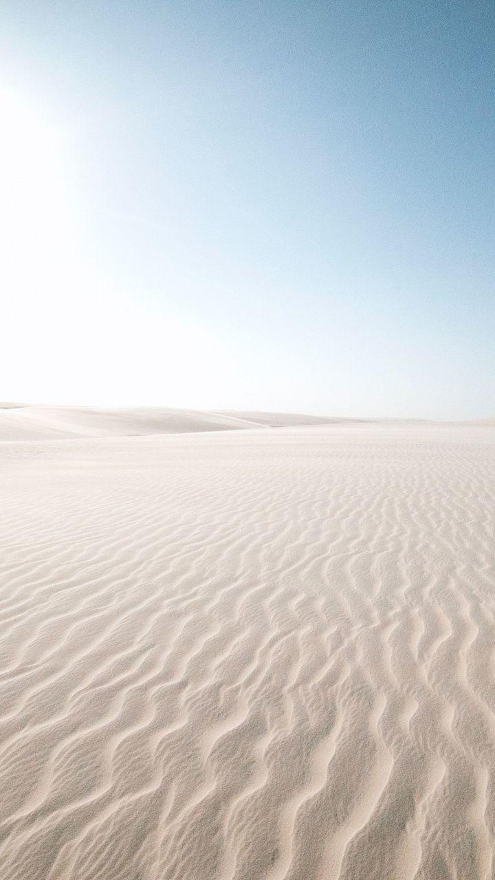 White Sand Desert Landscape 720x1280 Wallpaper Mountain Wallpaper Desktop Wallpaper Phone Wallpaper