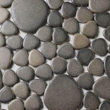 pebble carreaux de céramique pour salle de bain carrelage douche dosseret de cuisine couloir piscine mosaïque brun couleur 30x30cm(China (Mainland))