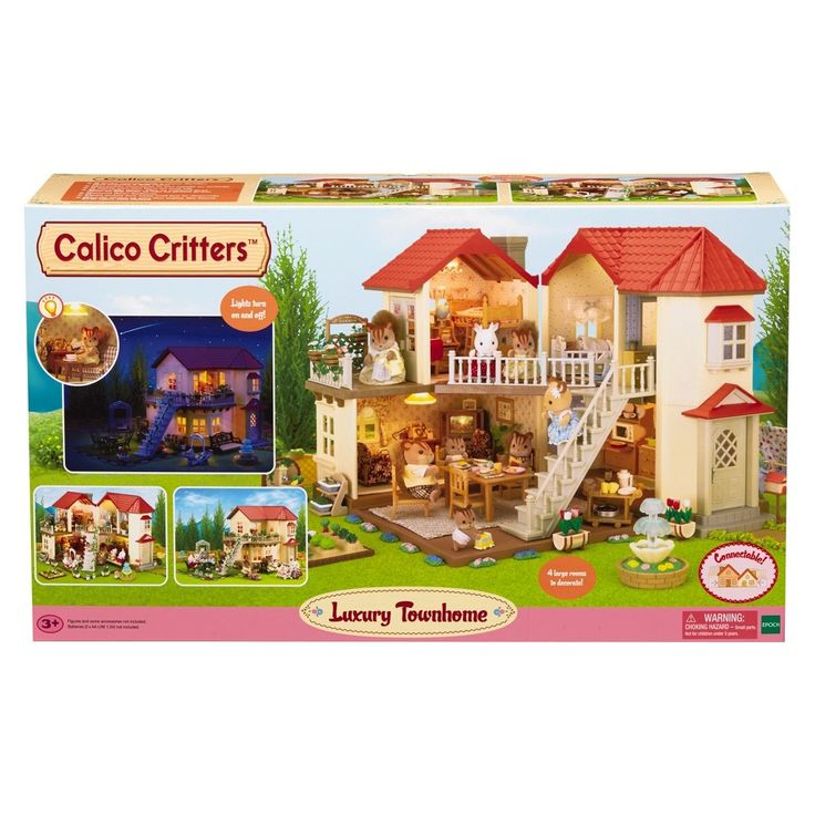 17 best ideas about luxury townhomes on pinterest modern - Calico critters deluxe living room set ...