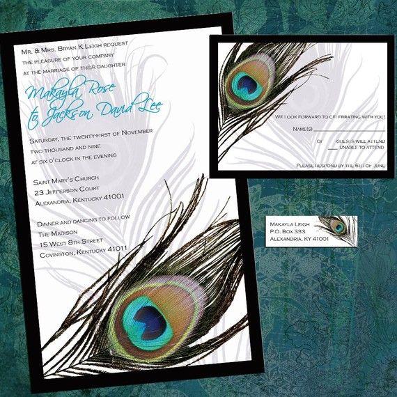 Invitation possibility?  The colors are perfect!