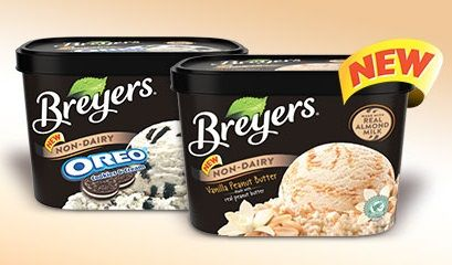 Breyers Adds New Dairy-Free Flavors
