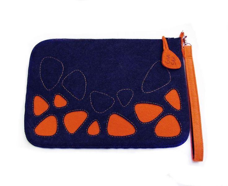 Civit mavi ve turuncu çanta-The BAGua-Düzenli çantalar The BAGua -Çanta içinde düzen çok önemlidir!!!Tablet çantası olarak ta.... 103962