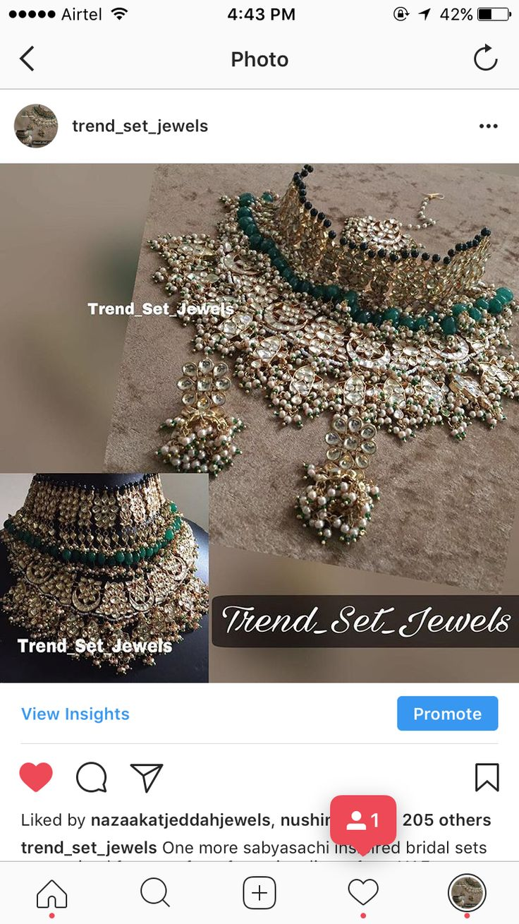 Pin by Trend Set Jewels on Indian bridal jewellery