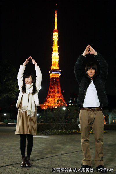 グッドモーニング・コール公式 @GMCofficial2016  16時間16時間前 東京タワーを見上げた二人(#福原遥、#白石隼也)は、このあと…  #グッドモーニング・コール