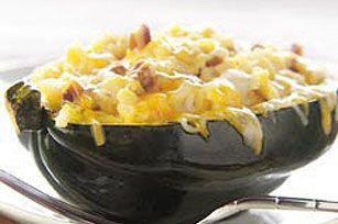 #kraftrecipes Rice-Stuffed Acorn Squash recipe