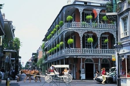 The French Quarter in New Orleans, LA - 1994ish? and 1998