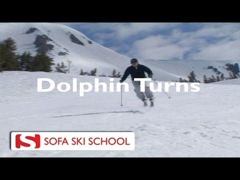 ▷ Dolphin Turns   Sofa Ski School   YouTube | Aspen Extreme | Pinterest |  School
