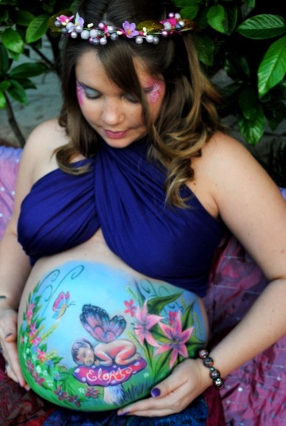 1000 ideas about pregnant belly painting on pinterest for Maternity belly painting