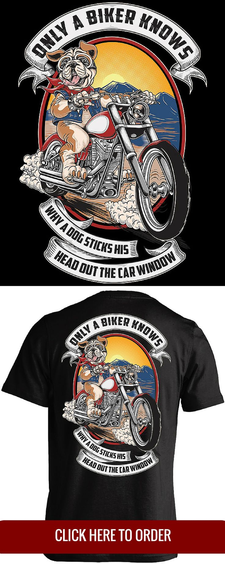 Harley funny biker quotes bar hopper challenge com - Only A Biker Knows Why A Dog Sticks His Head Out