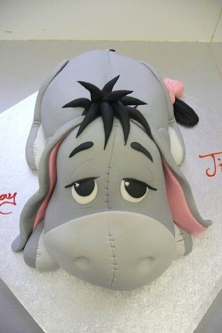 Cake Wrecks - Home - Sunday Sweets Goes Looking ForPooh - Love pessimistic little Eyore - made by Cake Magic