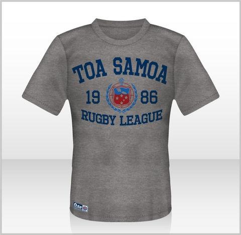 Toa Samoa T-Shirt (Grey)