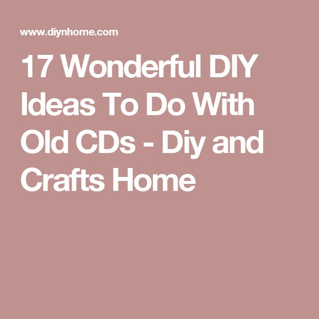 17 Wonderful DIY Ideas To Do With Old CDs - Diy and Crafts Home
