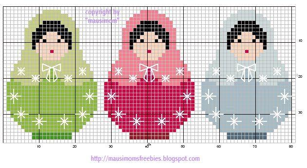 tites croix - grilles gratuites du lundi - 3 petites… - Noël scintillant - Mon 1er Noël en… - Il neige, il neige… - Une ronde de sapin - Petites bricoles de… - Les premiers… - Echevette