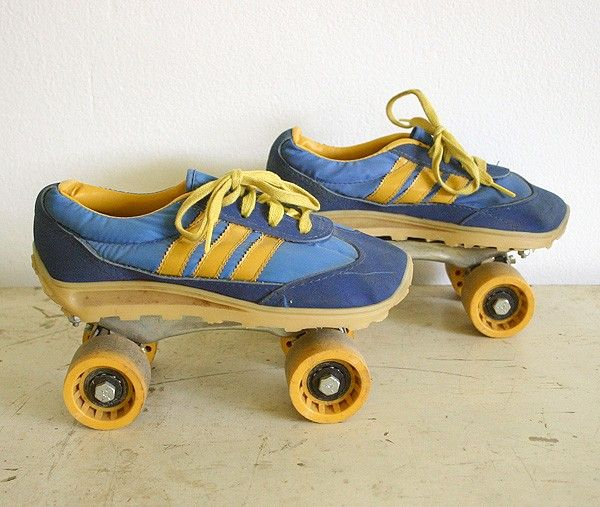 I had roller skates just like these as a kid in the 1980s.