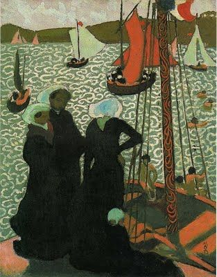 MauriceDenis was a French painter and writer, and a member of the Symbolist and Les Nabis movements. His theories contributed to the foundations of cubism, fauvism, and abstract art.