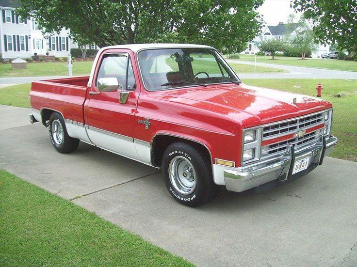 1986 Chevy Silverado SWB Sport Trucks Pinterest