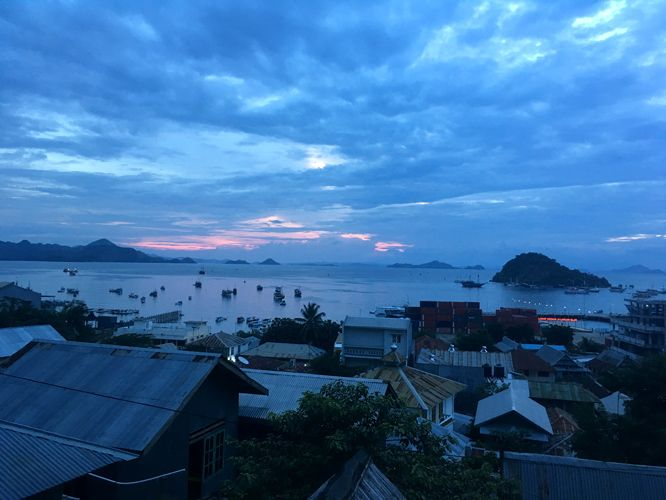 View over Labuan Bajo