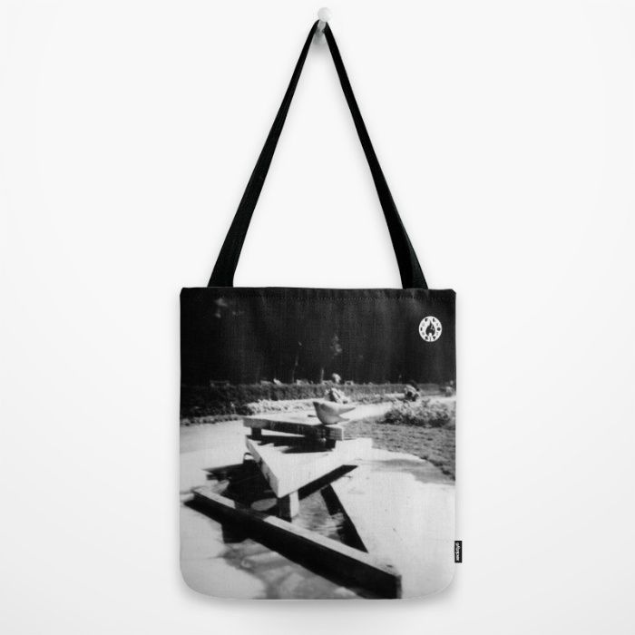"""The Fountain"" Tote bag on Society6"