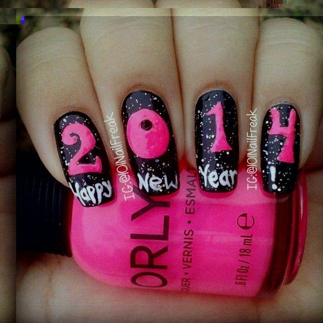 new year by 101nailfreak #nail #nails #nailart