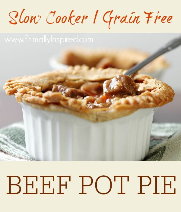 Slow Cooker Beef Pot Pie Filling recipe (use premise crusts)