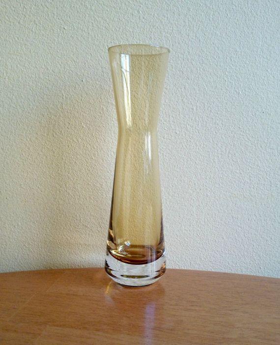 Aseda Sweden Bo Borgström two tone Glass Vase by JohannasGaze