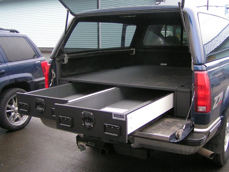 Truck vault truck bed organizer vehicle storage pinterest trucks guns and the o 39 jays - Truck bed organizer ideas ...