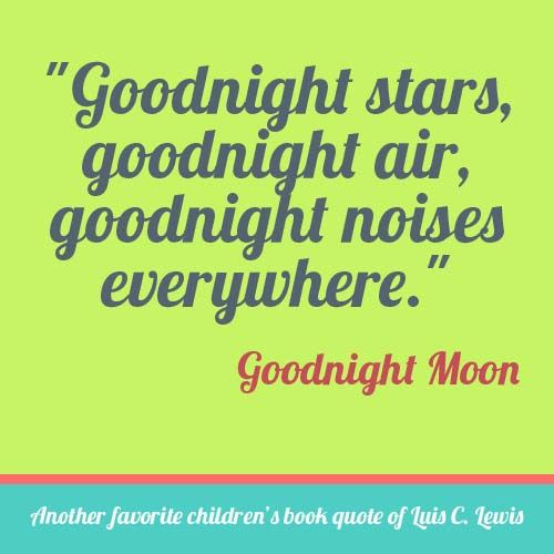 Goodnight Moon Quote