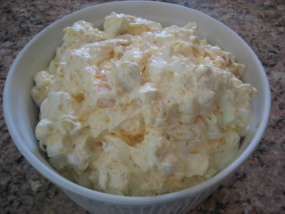 Yes, there are many ambrosia recipes out there... Im only posting mine here for safe keeping And for when Im asked for the recipe after bringing it to a party/gathering... Dont get me wrong, its very tasty And Ill mostly only prefer the taste of mine, so if you try it, I hope you enjoy it :-)