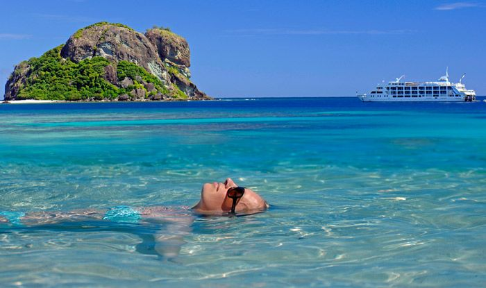8 Day Fiji Honeymoon Vacation Package - 3 nights hotel, 4 night cruise, meals, romantic bonuses and more.  visit: islandsinthesun.com  #fijihoneymoonpackages  #topfijivacations