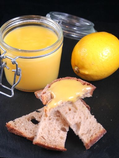 Crème au citron pour tartines
