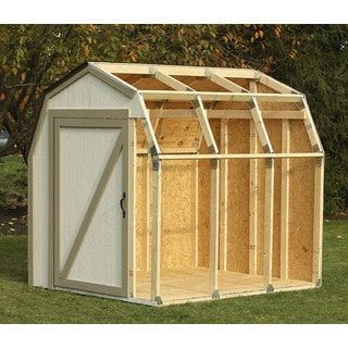 Hopkins - F3 Brands 90190 Barn Roof Shed Kit   Overstock.com Shopping - The Best Deals on Outdoor Storage #outdoordiycheap