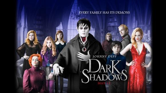 Dark Shadows, le nouveau film de Tim Burton me laisse perplexe