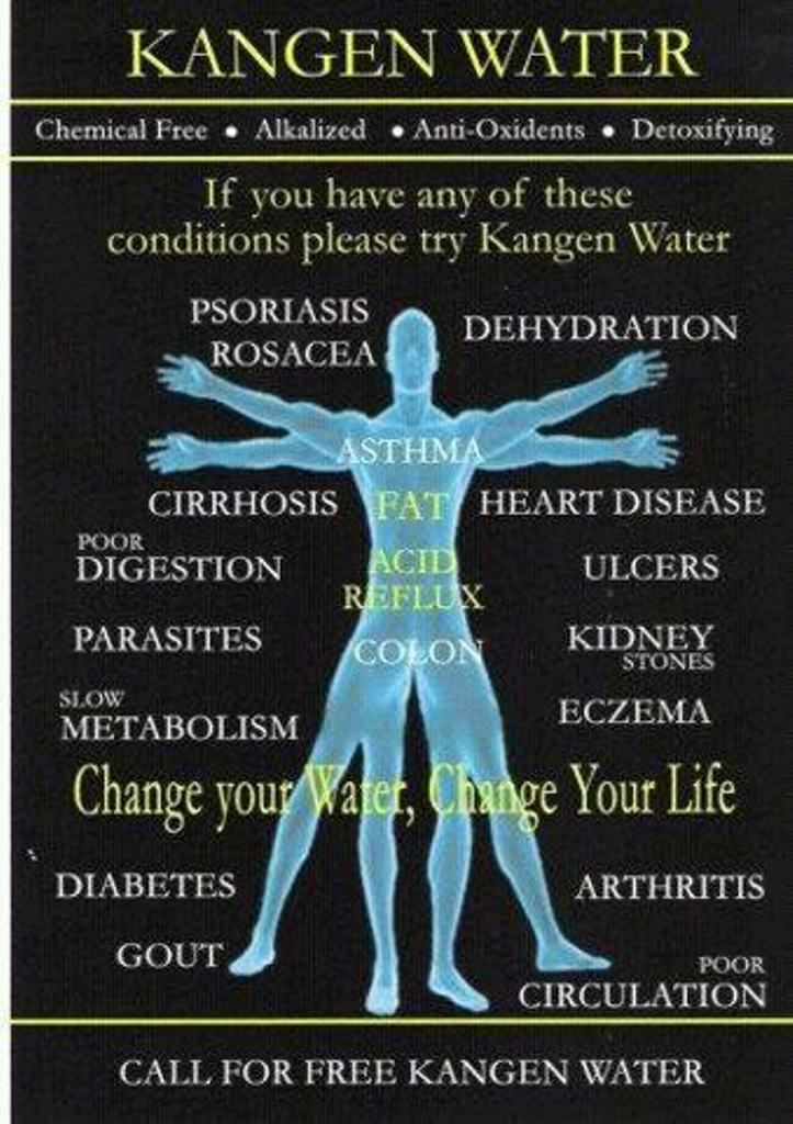 The Benefits of Drinking Ionized Alkaline Water Your body IS 75% Water, what are You filling Your 75% with>>>??? www.aquamiracles.com