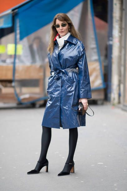 Ece Sukan seen after the Altuzarra Fashion show during the Paris Fashion Week Womenswear Fall/Winter 2018/2019 on March 3 2018 in Paris France