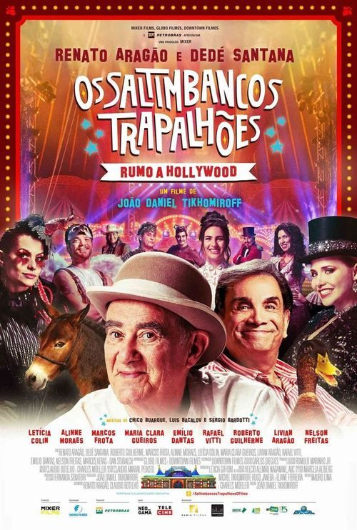 Os Saltimbancos Trapalhões - Rumo a Hollywood (2017) Full Movie Streaming HD