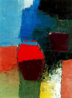 Nicolas de Staël - Artist XXè - Abstract Art - Red Boat, 1952