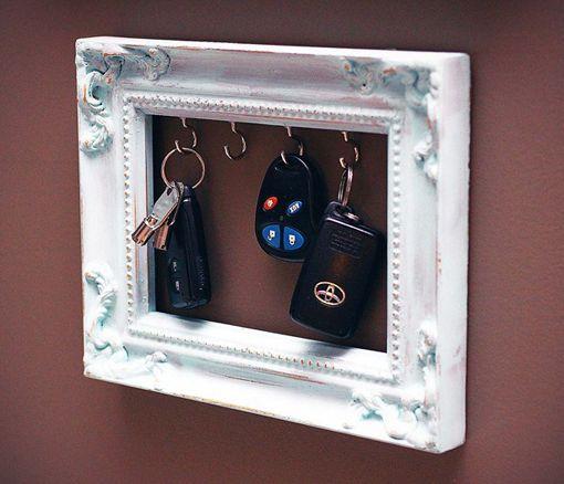 Um quadro de chaves.
