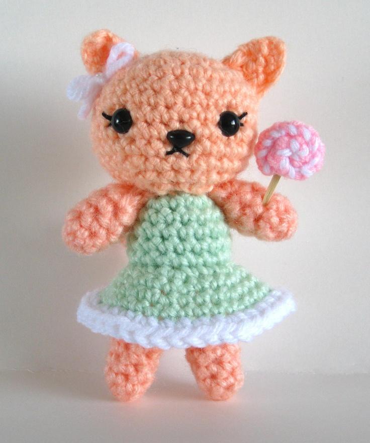 Candy Kitty Crochet