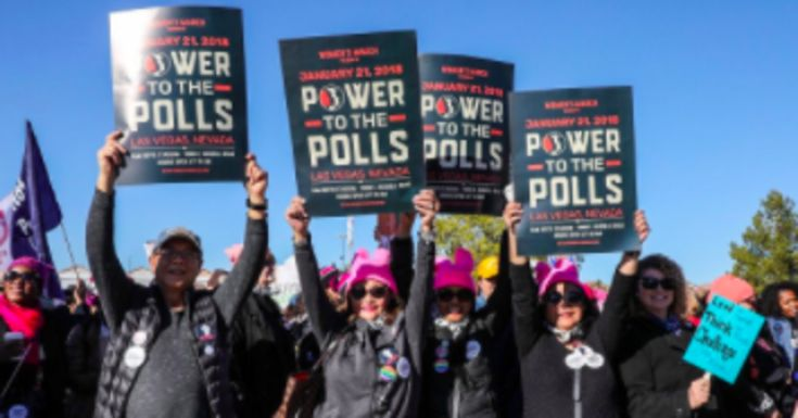 Women's March Activists Rally In Las Vegas To Bring Their 'Power To The Polls'  ||  Featured speakers include Cher, Planned Parenthood president Cecile Richards, and civil rights icon Rep. John Lewis (D-Ga.). https://www.huffingtonpost.com/entry/womens-march-power-to-the-polls_us_5a64ba7fe4b0e5630070a21d?utm_campaign=crowdfire&utm_content=crowdfire&utm_medium=social&utm_source=pinterest