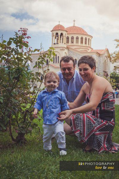 Η βάπτιση του μικρού Χαράλαμπου.  Ι.Ν. Αγίας Παρασκευής, Αγία Παρασκευή.  221 wedding and baptism photography  #φωτογραφια #βαπτισης #baptismphotographygreece