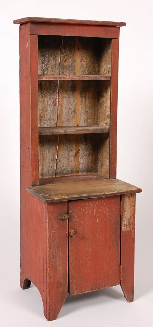 I soooo love this!! CHILD'S STEPBACK CUPBOARD