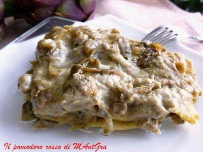 Il Pomodoro Rosso di MAntGra: Lasagne ai carciofi