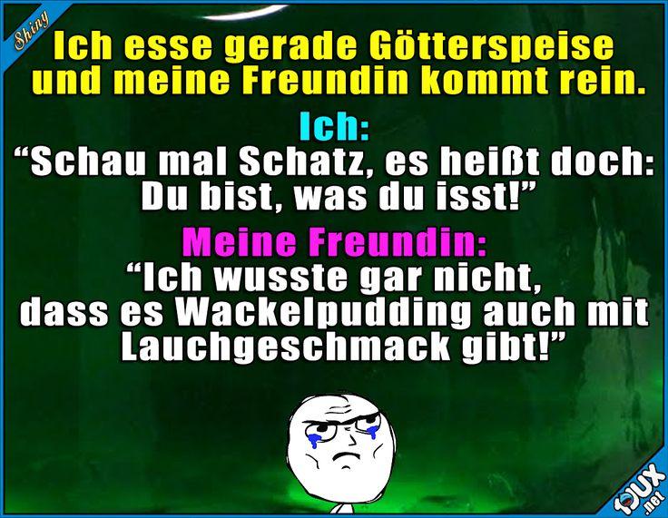 Autsch, der hat gesessen x.x #Freundin #gemein #Konter #Sprüche #Jodel #lustigeMemes #Memes #lachen