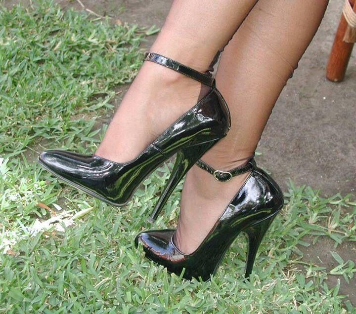 Blue Faux Nubuck Lace Up Open Toe Heels @ Cicihot Heel