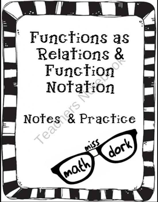 34 best Algebra 1- Unit 3 (Functions & Relations) images