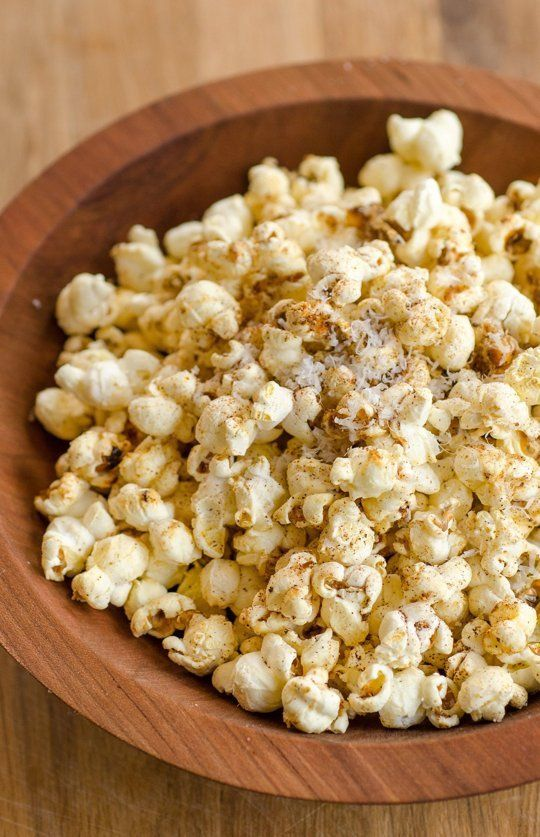 cheesy, spicy popcorn. next stay-at-home date night snack for my honey and i