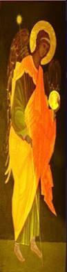 """SAN URIEL ARCANGEL Protector de la Vida, de la Argentina y el Uruguay, de los solitarios Especial Custodio de la Virgen María Reina de las Flores Luz incandescente, que anula toda depresión. 19 de Noviembre de 2002 Historia Mariavita VMRF San Uriel Arcángel Patrono de la Obra De Amor VMRF Epifanía de La Naturaleza """"Patrono de la Argentina y el Uruguay"""""""
