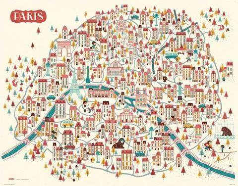 Paris Map PARIS