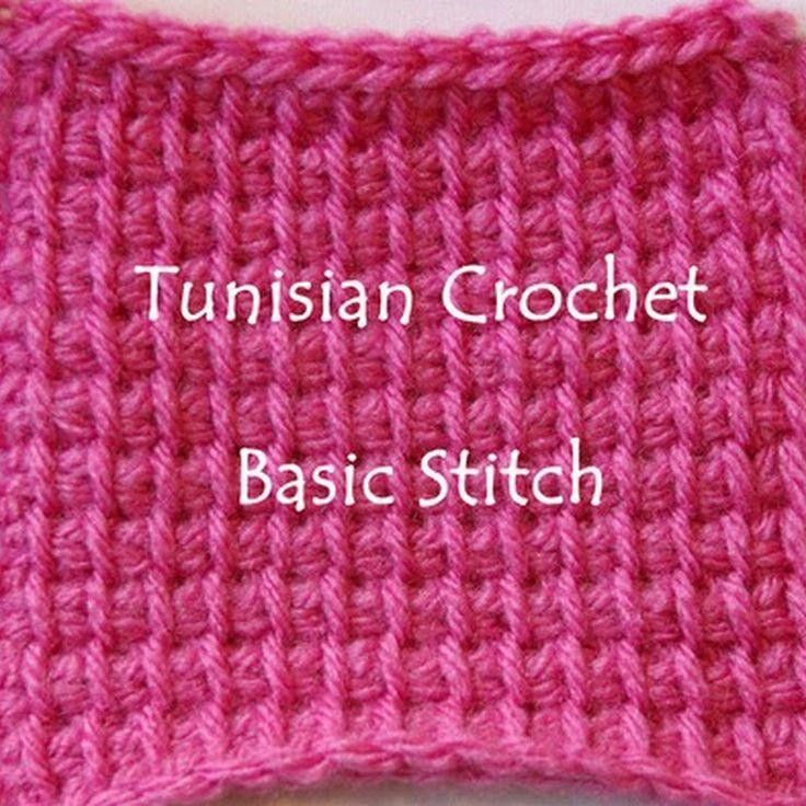Crochet Jersey Stitch : tunisian crochet stitches crochet hook crochet knitting stitch ...
